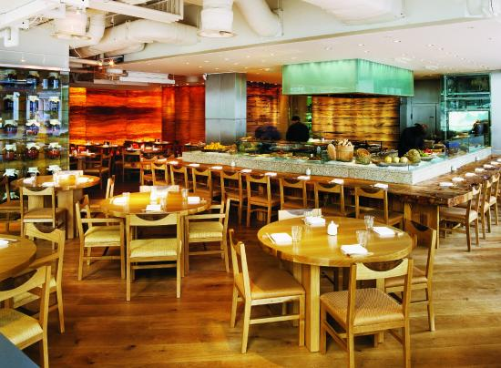 Photo of Japanese Restaurant ROKA Charlotte Street at 37 Charlotte Street, London W1T 1RR, United Kingdom