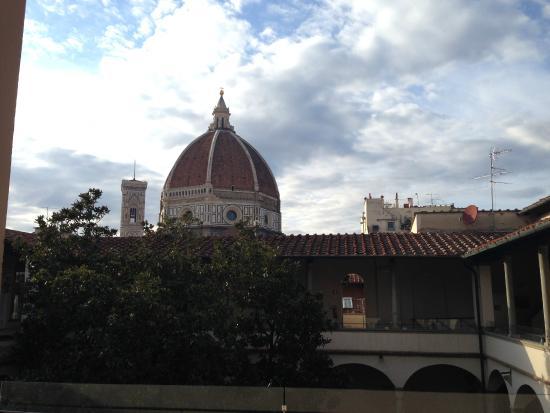 Biblioteca delle Oblate: View and veranda