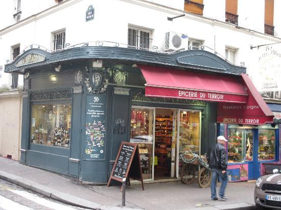 L'epicerie du Terroir, 26 Rue Lepic,  Montmartre