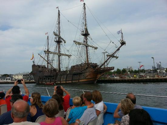 Sea Rocket: On our boat trip, happened to be an old pirate ship that was docked