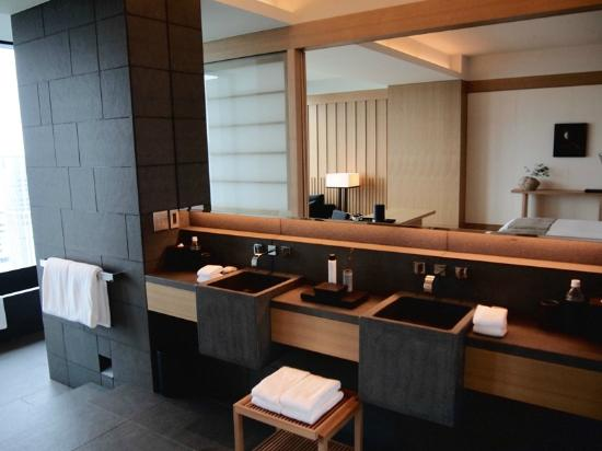 Bathroom premier room picture of aman tokyo chiyoda tripadvisor Premiere bathroom design reviews