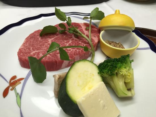 Taishoya: 夕食♪ 佐賀牛