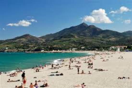 Plage d 39 argel s sur mer photo non contractuelle camping for Campings argeles sur mer avec piscine