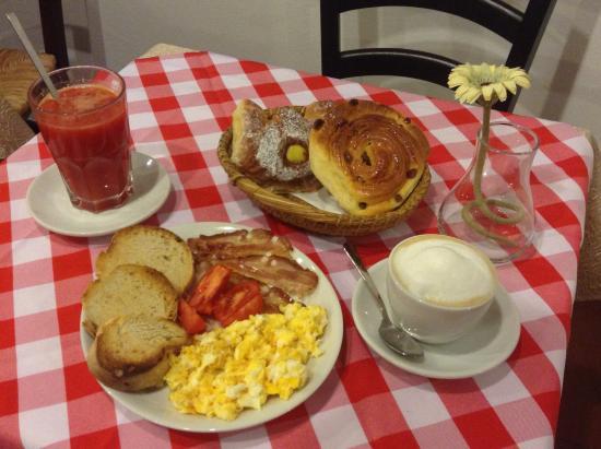 La Cantina del Pescatore : breakfast