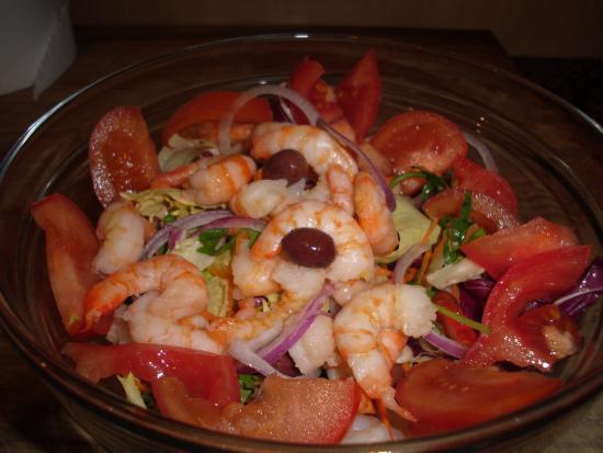 La Cantina del Pescatore : shrimps salad