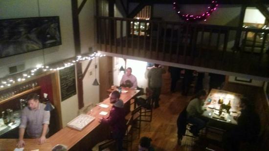 Rockmill Brewery bar area