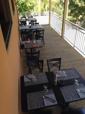 Cul de Sac, St. Maarten: La terrasse