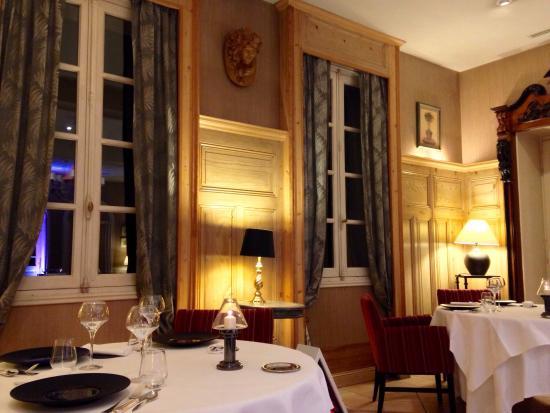 Le Chateau de Candie : La salle de restaurant