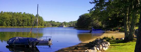 Belmont, Nueva Hampshire: Fishing Dock