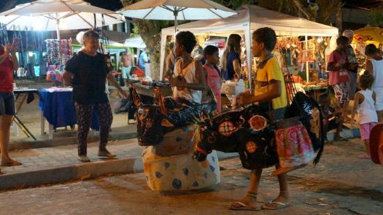 Praca Santo Antonio: Dia de festa na praça