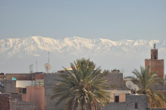 Bellamane, Ryad & Spa: view from roof terrace