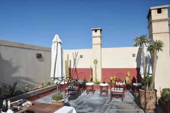 Bellamane, Ryad & Spa: roof terrace