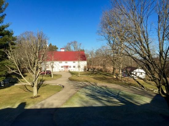 The Lawrencefield Bed and Breakfast Inn: the barn from the main house