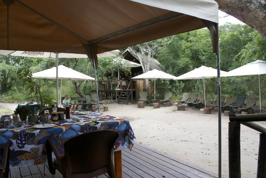Tembe Elephant Park Accommodation: Breakfast-Dining centre