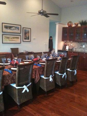 Inn at Riverbend : Dinning room