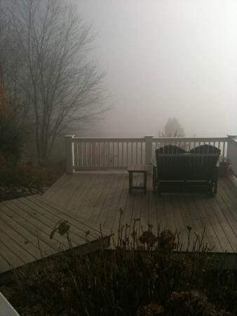 Pearisburg, VA: Foggy morning