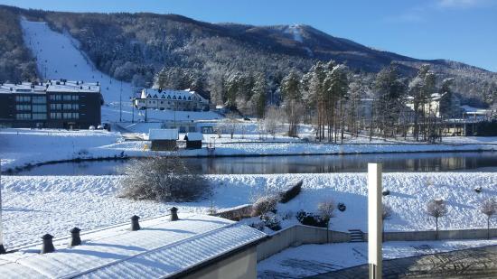 Hotel Dras : Vista dalla Camera