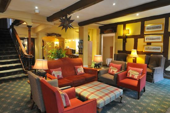 The Feathers Hotel: Come and Enjoy a Coffee Infront of Our Roaring Fires