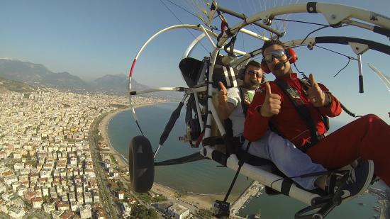 TRIKEFORCE - Powered Paragliding: Over Alanya