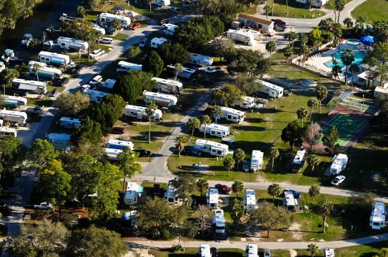Campsite Picture Of Crystal Isles Rv Resort Crystal