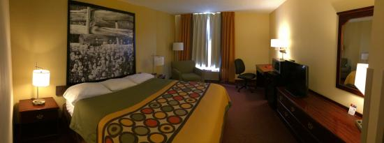 Super 8 Lamar : Standard king room