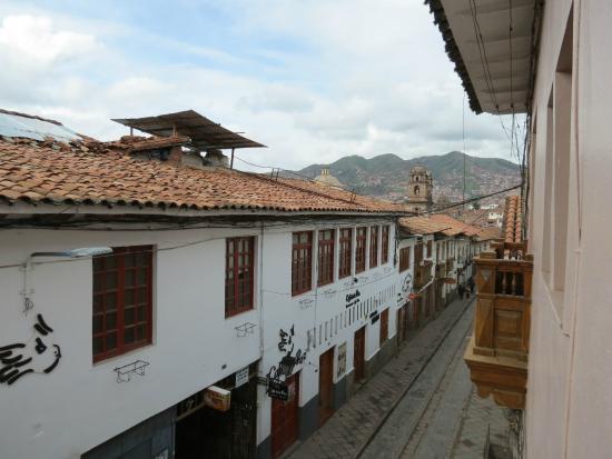 Hostal El Triunfo: panorama dalla camera