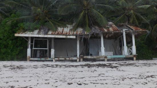 "Villa Anse La Blague: ""Strandpavillon"" des Ex-Hotels Vanille"