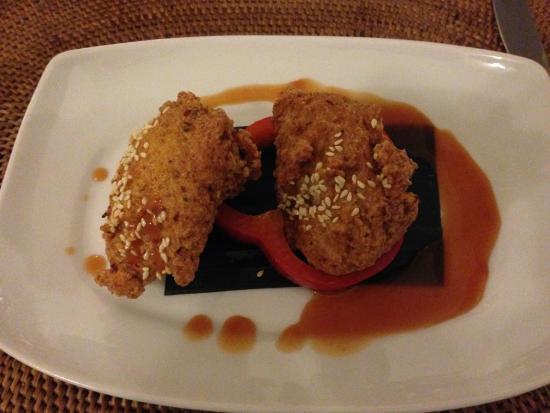 Borobudur Ristorante Indonesiano: Cincang udang ayam