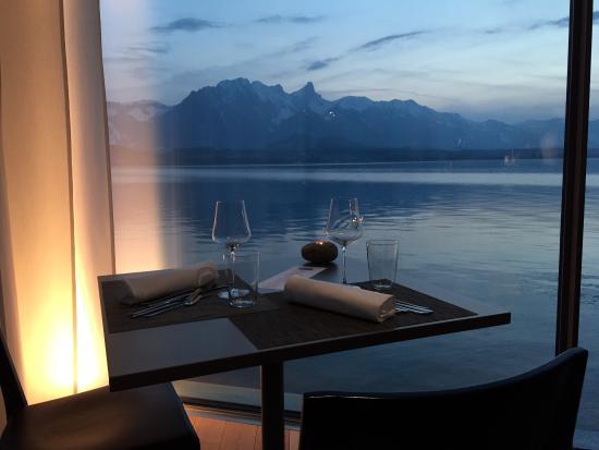 Restaurant Schloss Oberhofen: Dinner for two