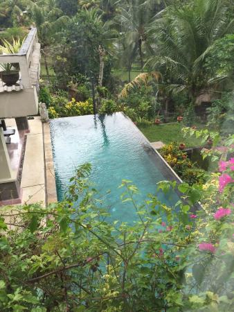 Surya Shanti Villa: Une des 2 piscines