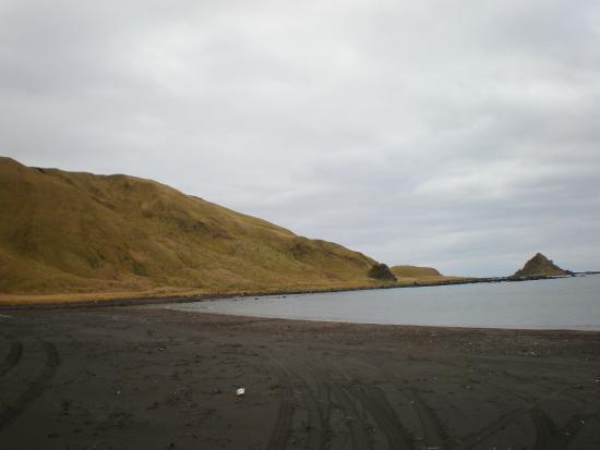 Atka Island, AK: Atka beach
