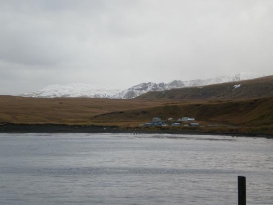 Atka Island, AK: Atka - view from the beach