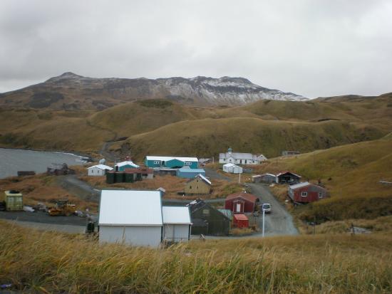 Atka Island, AK: Atka - the Vilkage