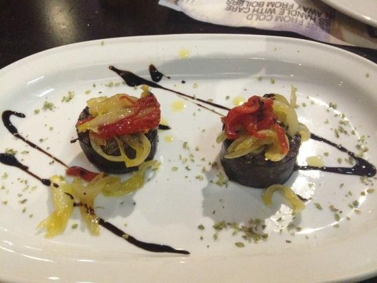 La Tasca de Mi Abuelo : morcilla con cebolla confitada
