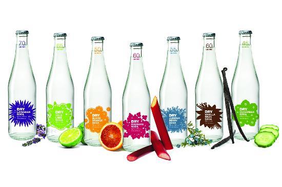 Image result for DRY sparkling soda