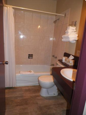 Creston Hotel: Hotel Room Bathroom
