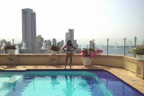 Hotel Regatta Cartagena: Vista a la ciudad