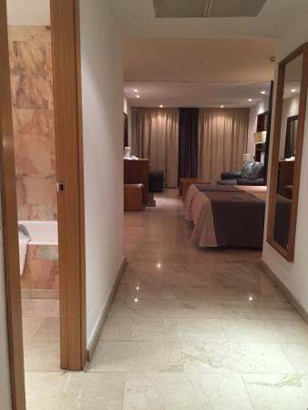 Hotel Mirador: 応接セットがあってとても広いです。