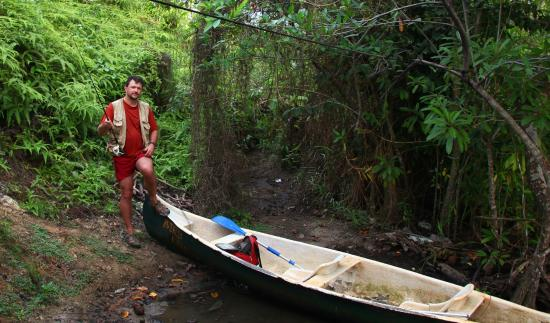 Villa Birdlake: the boat they provide for rent