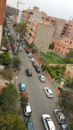 Les Trois Palmiers : That's the view ;)