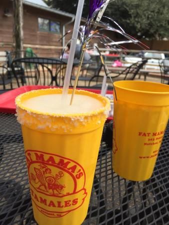 Fat Mama's Tamales : Great drinks!!