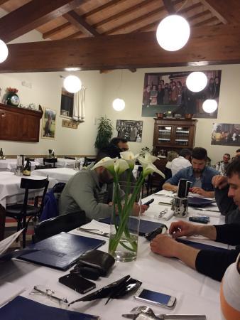 Trattoria pizzeria al Senato: Il locale interno