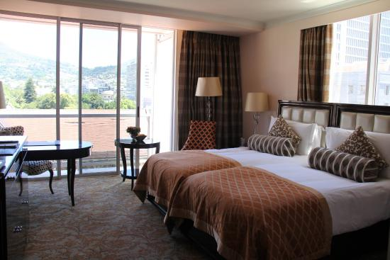 Taj Cape Town Hotel Room King Size Bed Is Two Twin Mattresses With Separate