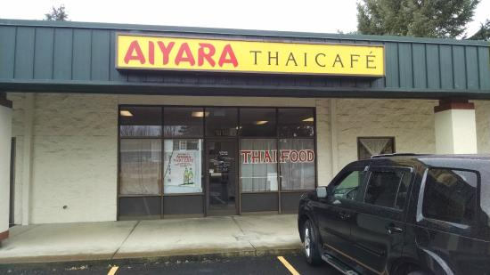 Aiyara Thai Cafe: Aiyara's front entrance
