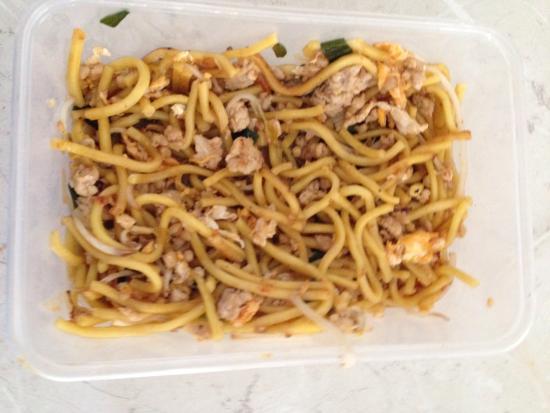 Thai Orchid Restaurant: Mee noodles with chicken n prawns