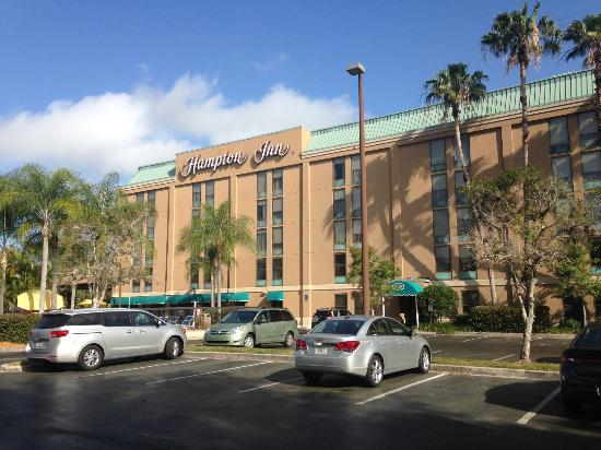 Hampton Inn Sarasota I-75 Bee Ridge : Exterior of hotel