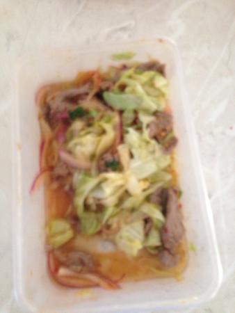 Thai Orchid Restaurant: Thai beef salad