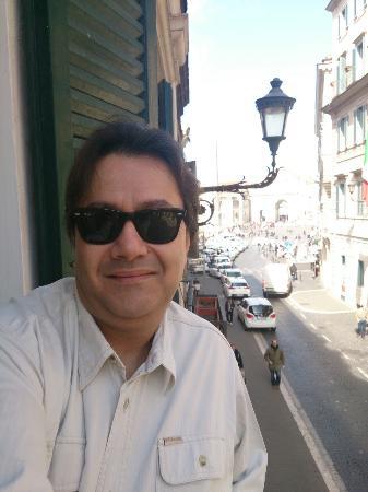 Piranesi Palazzo Nainer Hotel : From my room's balcony!