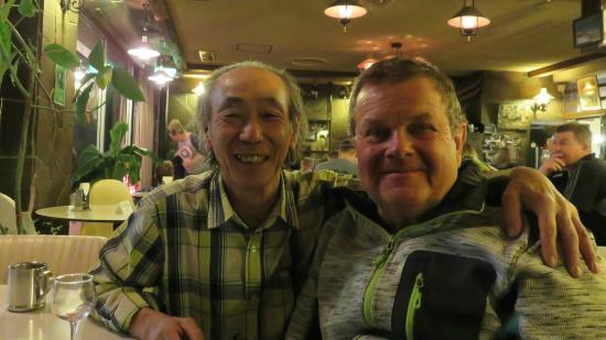 """Villa Alpen: Captain Nobuo & Tony in """"The Bar"""""""