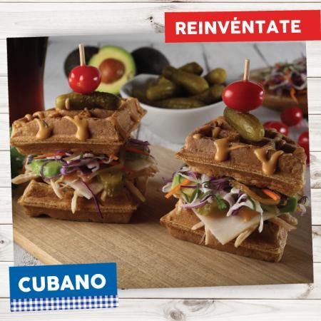 La Crepe: Waffle Cubano